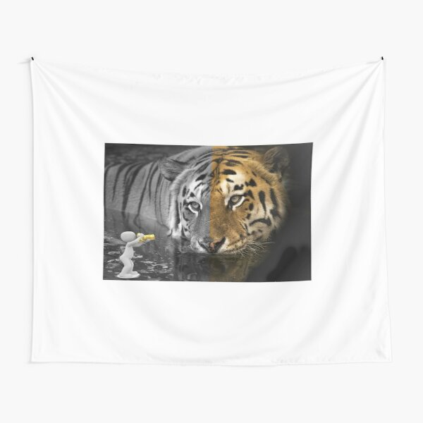 Tiger wildlife photography by amateur photographer Tapestry