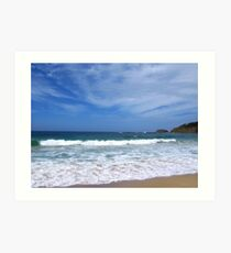Seascape - Depot Beach - South Coast Art Print