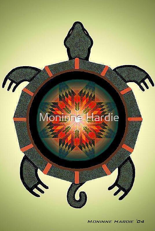 Star Turtle by Moninne Hardie