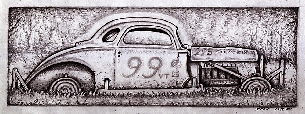 The Remains of Number 99 by Sean Phelan