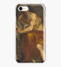 Paolo Caliari Veronese - Allegory of Navigation with an Astrolabe Ptolemy iPhone Case/Skin
