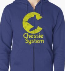 Chessie System Zipped Hoodie