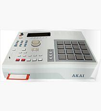 Akai MPC 2000 - Hip Hop - Sampler Poster