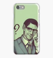Edward Nygma iPhone Case/Skin
