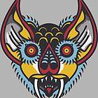 Bat Head by Brieana