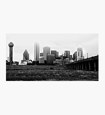 It's a Cloudy Afternoon in the Lonestar State Photographic Print