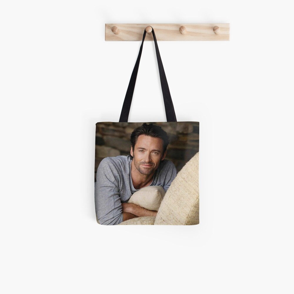 Hugh Jackman Tote Bag