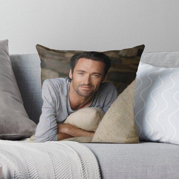 Hugh Jackman Throw Pillow