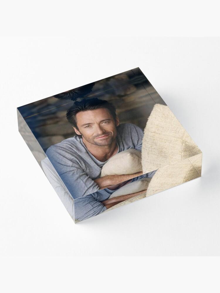 Alternate view of Hugh Jackman Acrylic Block