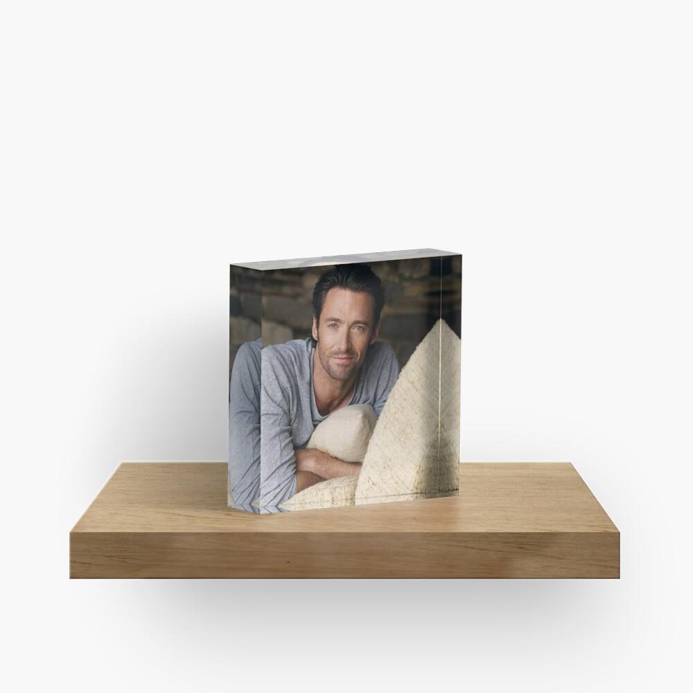 Hugh Jackman Acrylic Block