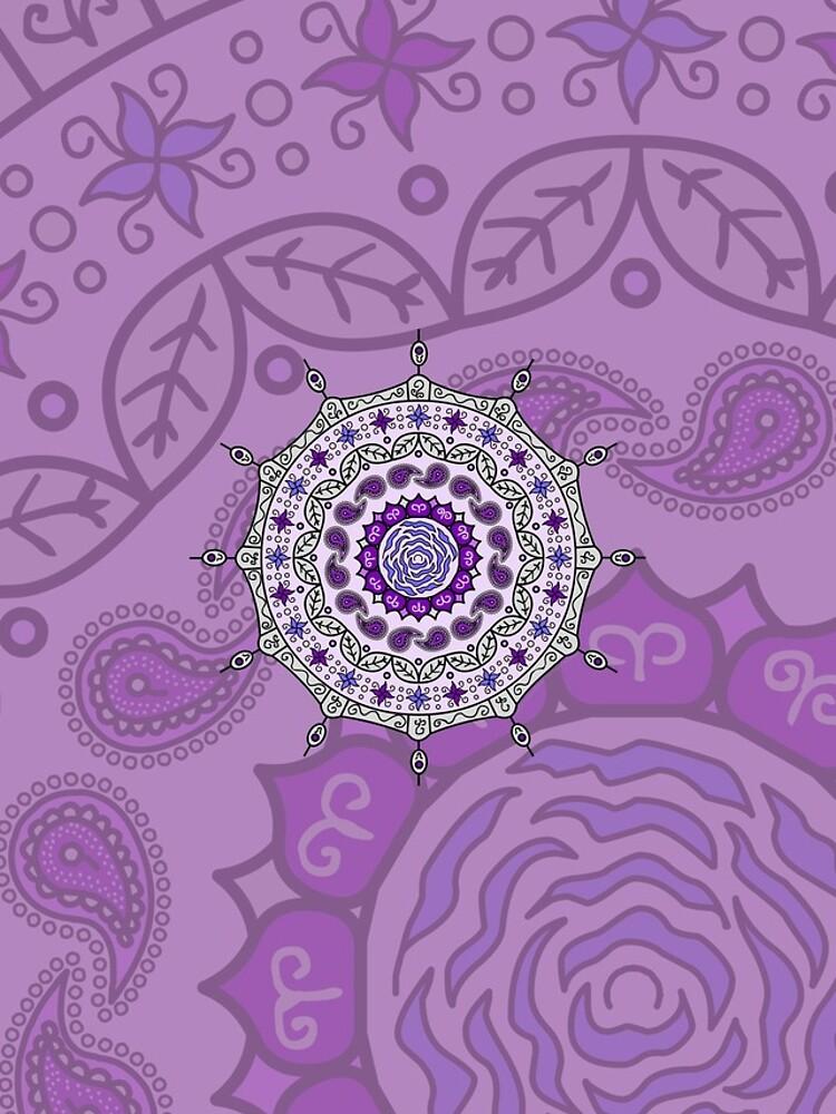 Mehndi Fantasy Silver by ValerieDesigns