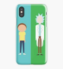 Rick and Morty - Minimalists iPhone Case/Skin