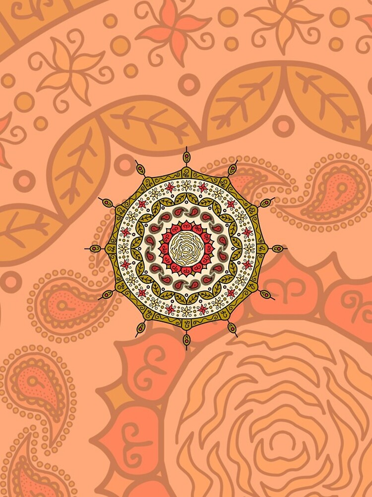Mehndi Fantasy Gold by ValerieDesigns