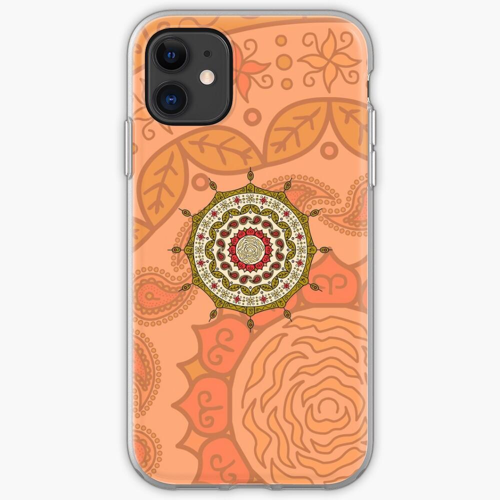 Mehndi Fantasy Gold iPhone Case & Cover
