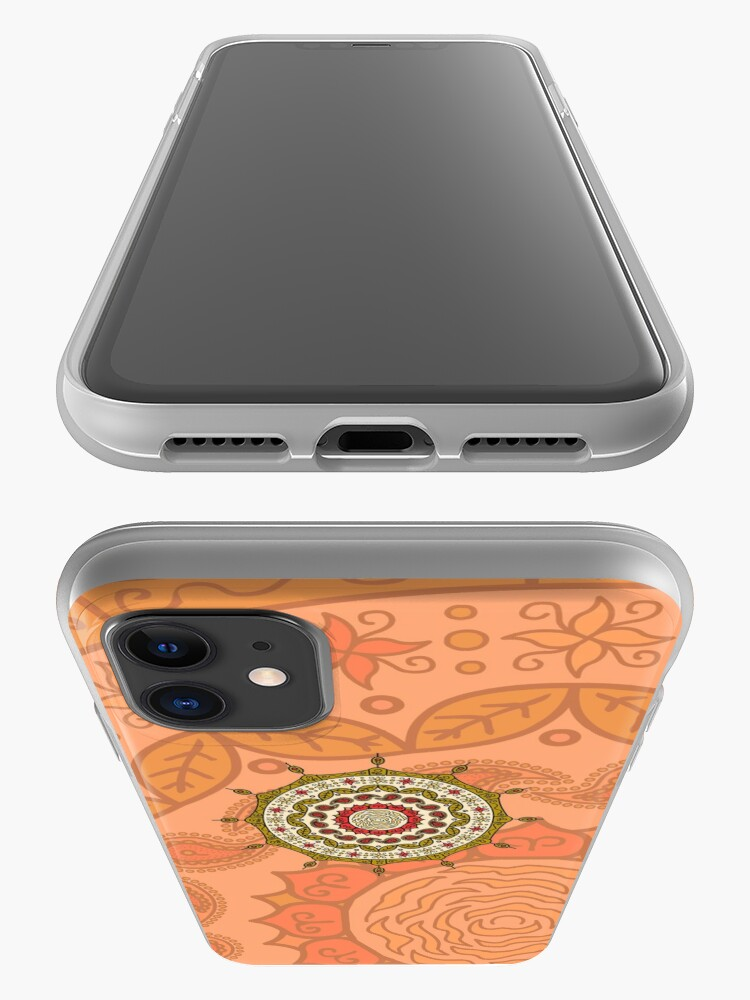 Alternate view of Mehndi Fantasy Gold iPhone Case & Cover