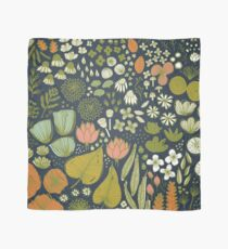 Botanical Sketchbook M+M Navy by Friztin Scarf