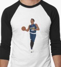 Donovan Mitchell Summer League Men's Baseball ¾ T-Shirt