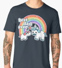 Best Unicorn Dad Men's Premium T-Shirt