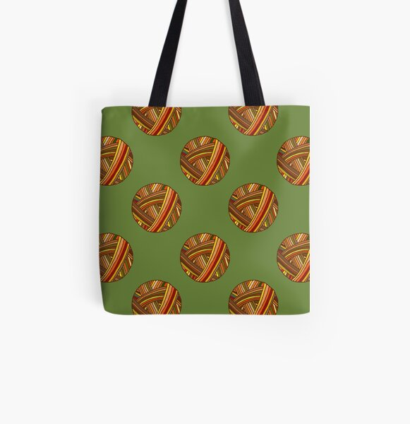 Autumn Yarn All Over Print Tote Bag