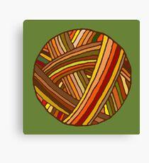 Autumn Yarn Canvas Print