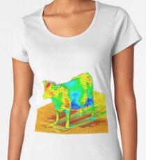 Aerodynamics of a Cow Women's Premium T-Shirt