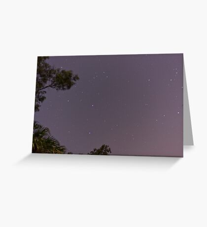 Starscape Greeting Card