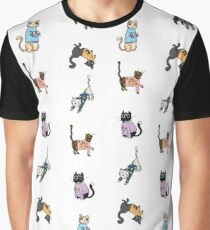 Cats in Cat Sweaters by Abi Roe Graphic T-Shirt