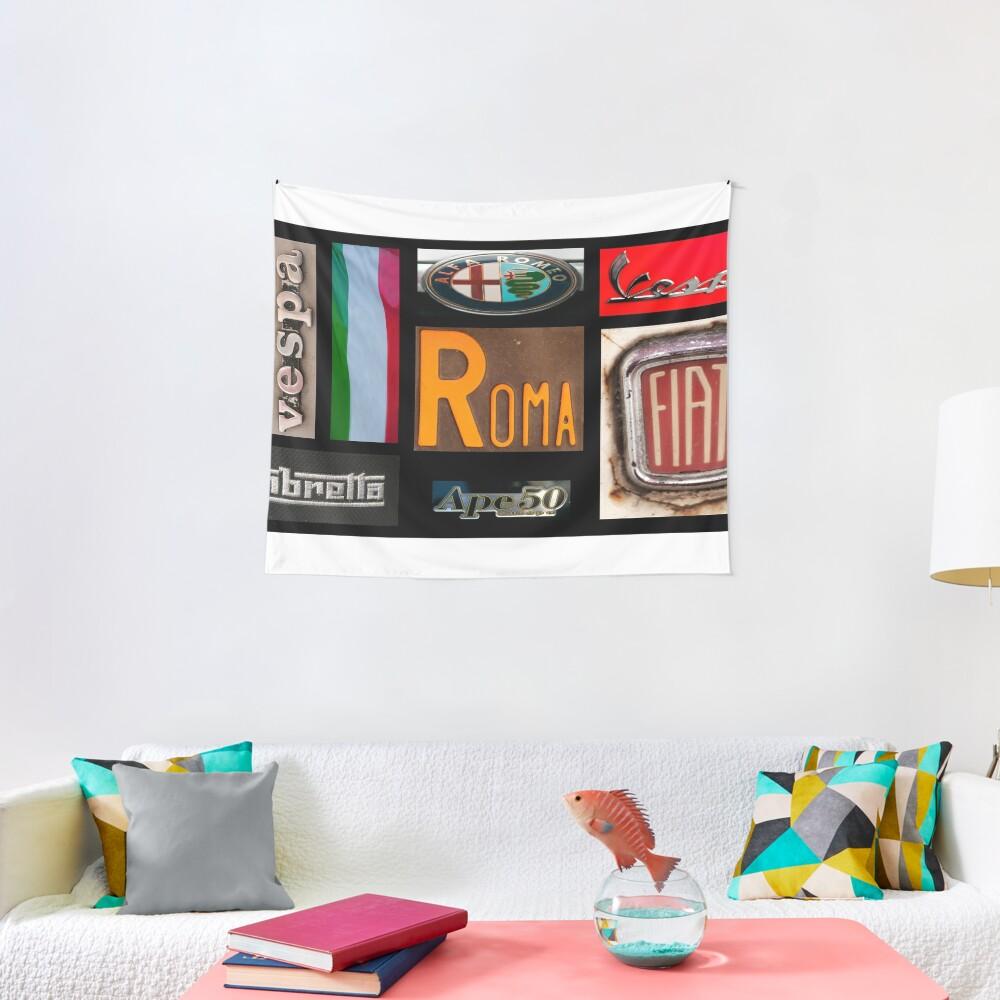 Italian Brands Tapestry