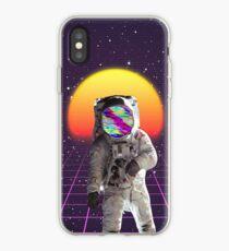 Vaporwave Astronaut iPhone Case