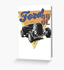 32 Ford Roadster Greeting Card