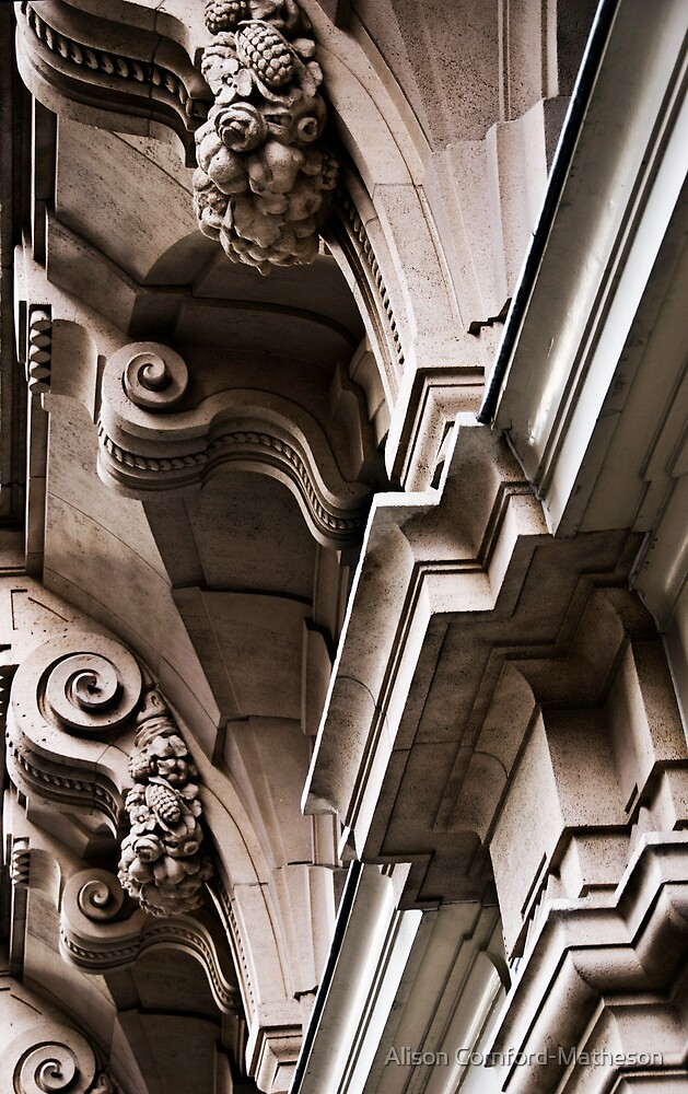 Brussels Architectural Detail by Alison Cornford-Matheson