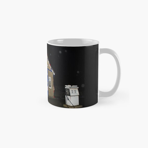 """Aidensfield Garage"" at night. Classic Mug"