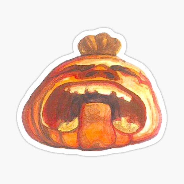 Mini Crying Pumpkin Sticker