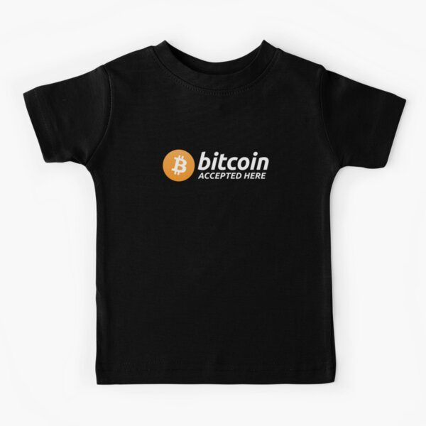 Bitcoin Accepted Here Kids T-Shirt