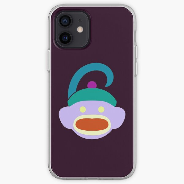 Sock Monkey With Tail iPhone Soft Case