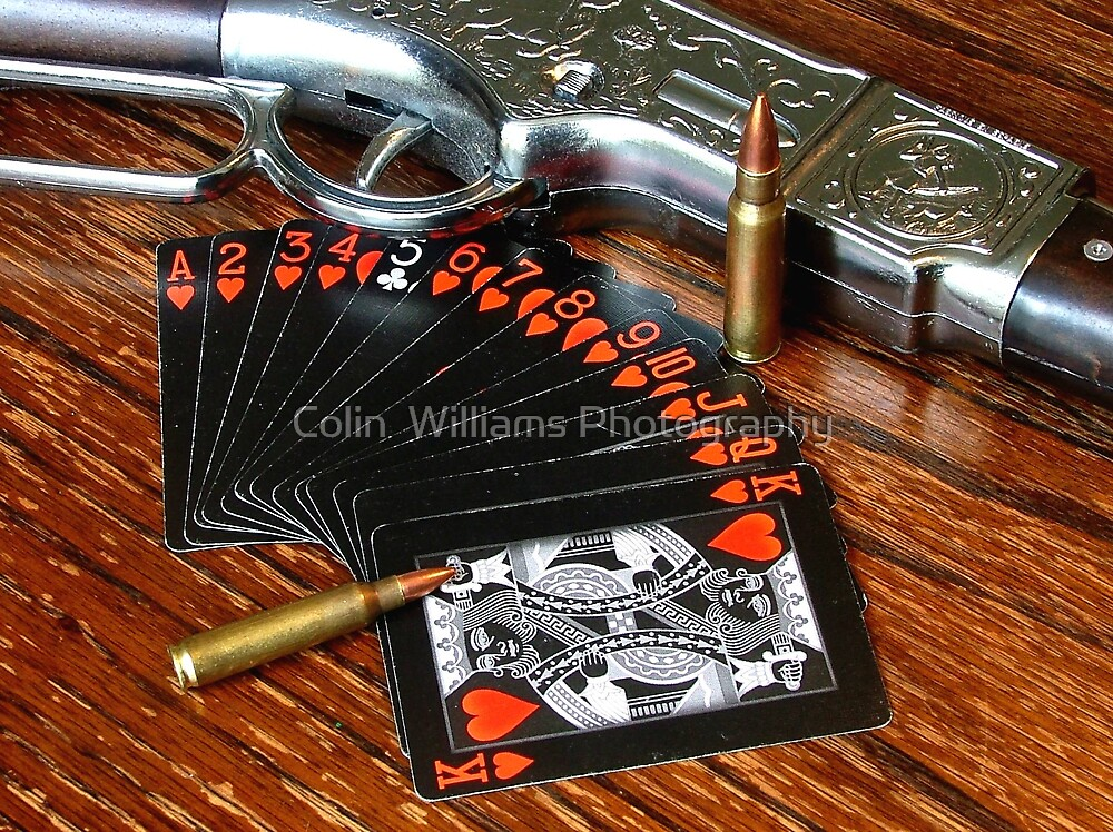 A Western Game of Cards by Colin  Williams Photography