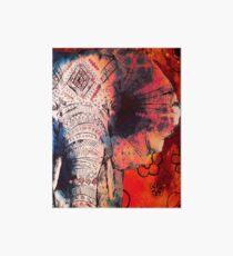 Indian Sketched Elephant Art Board