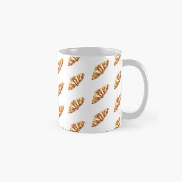 Watercolor Croissant Classic Mug