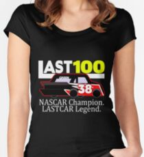 #LAST100 Jeff Green 100th Last-Place Finish Shirt Women's Fitted Scoop T-Shirt