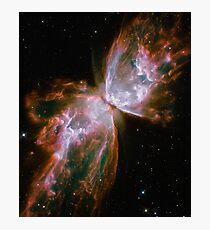 Butterfly Nebula Spotted by Hubble Space Telescope Photographic Print