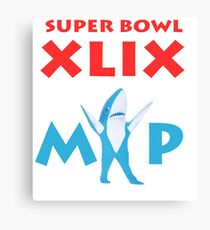 Super Bowl MVP Canvas Print