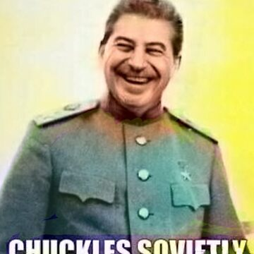 chuckles sovietly by AnarchaBarista
