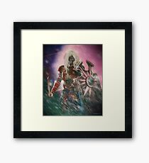 Angry Raven Revisited Framed Print