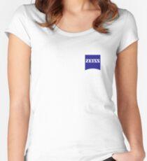 Zeiss Logo Shirt Women's Fitted Scoop T-Shirt