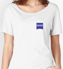 Zeiss Logo Shirt Women's Relaxed Fit T-Shirt