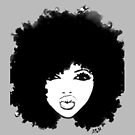 Natural Hair Curly Hair Autumn Black Kinky Afro by EllenDaisyShop