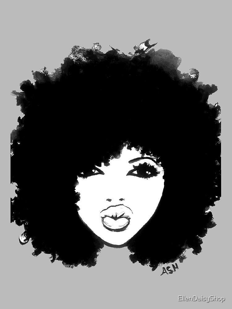 Natural Hair Curly Hair Autumn Black Kinky Afro by EllenDaisyShop