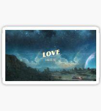 Lana Del Rey Love  Sticker