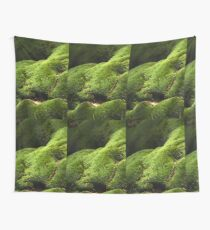 A Mossy Bank. Wall Tapestry