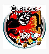 Cuphead Devil Classic  Photographic Print